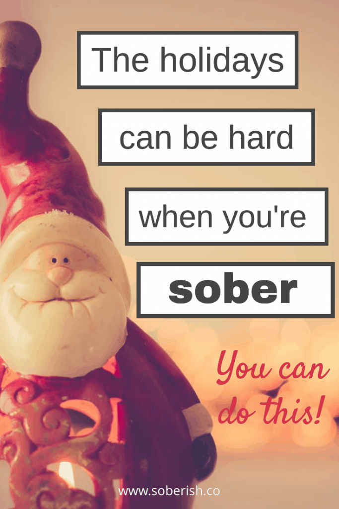 How I got through my very first Christmas sober