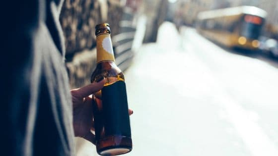 alcoholism and drinking in public