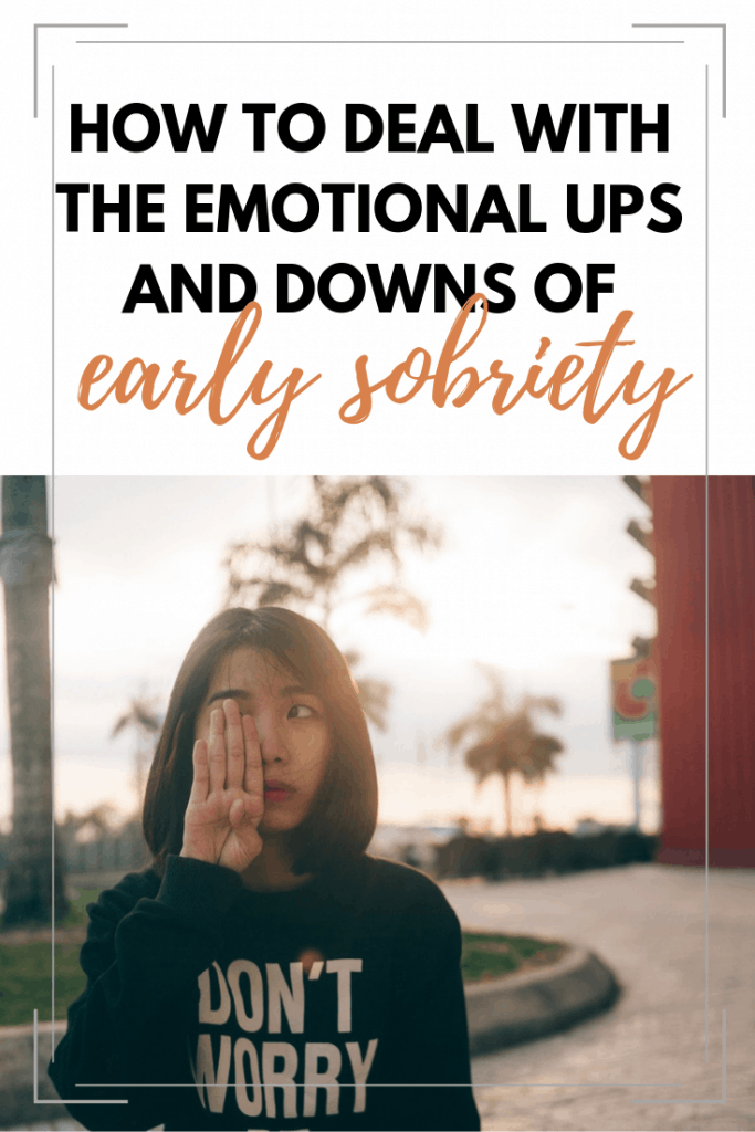 Tips for managing those tricky emotions in sobriety