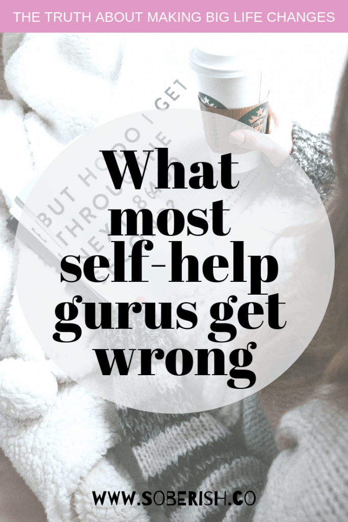 why the self-help aisle is not always helpful