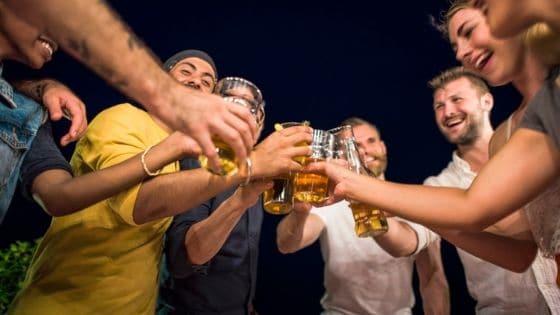 group binge drinking