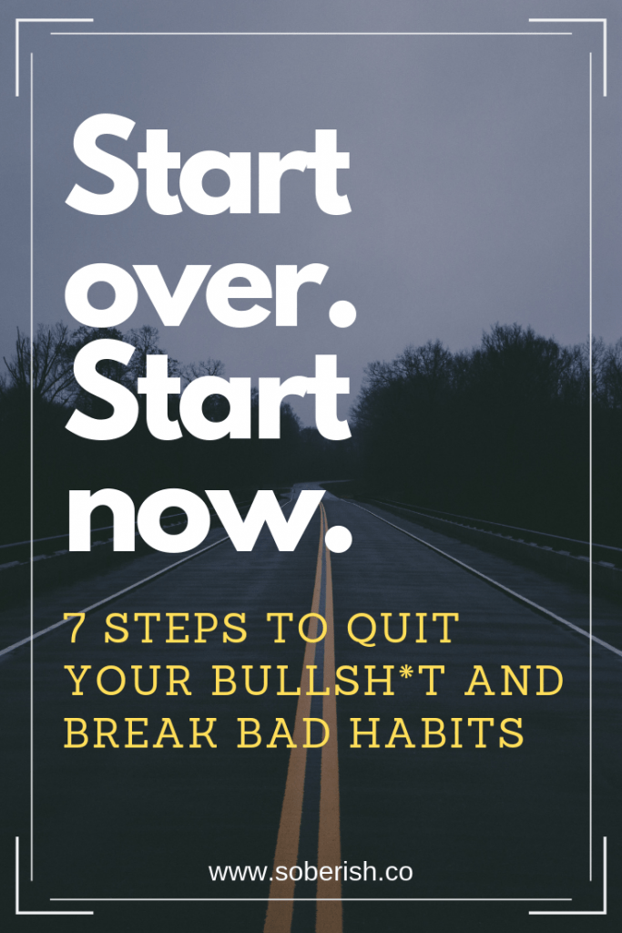 7 steps you can take to break bad habits