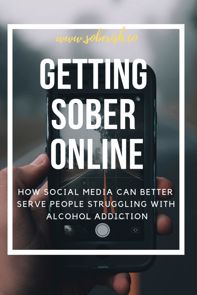 Navigating online spaces in sobriety