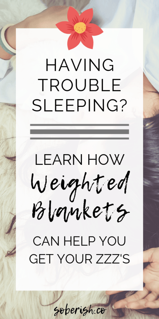 Image weighted blankets for sleep and anxiety