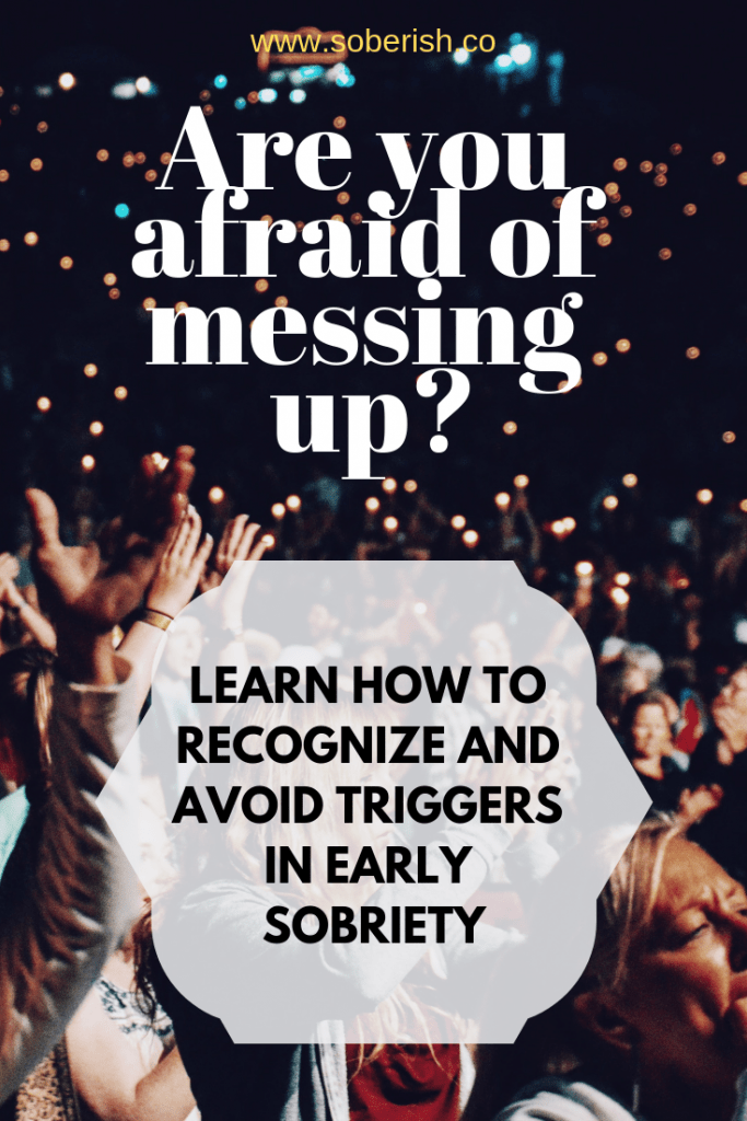 Learn to recognize triggers in early sobriety
