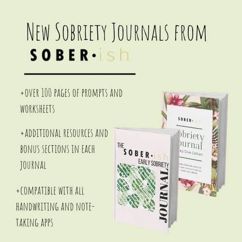 sobriety journal promotion