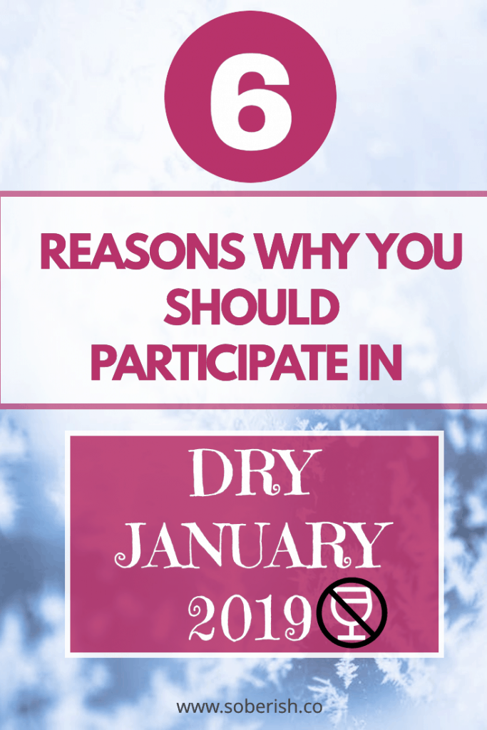 A list of six reasons to join Dry January