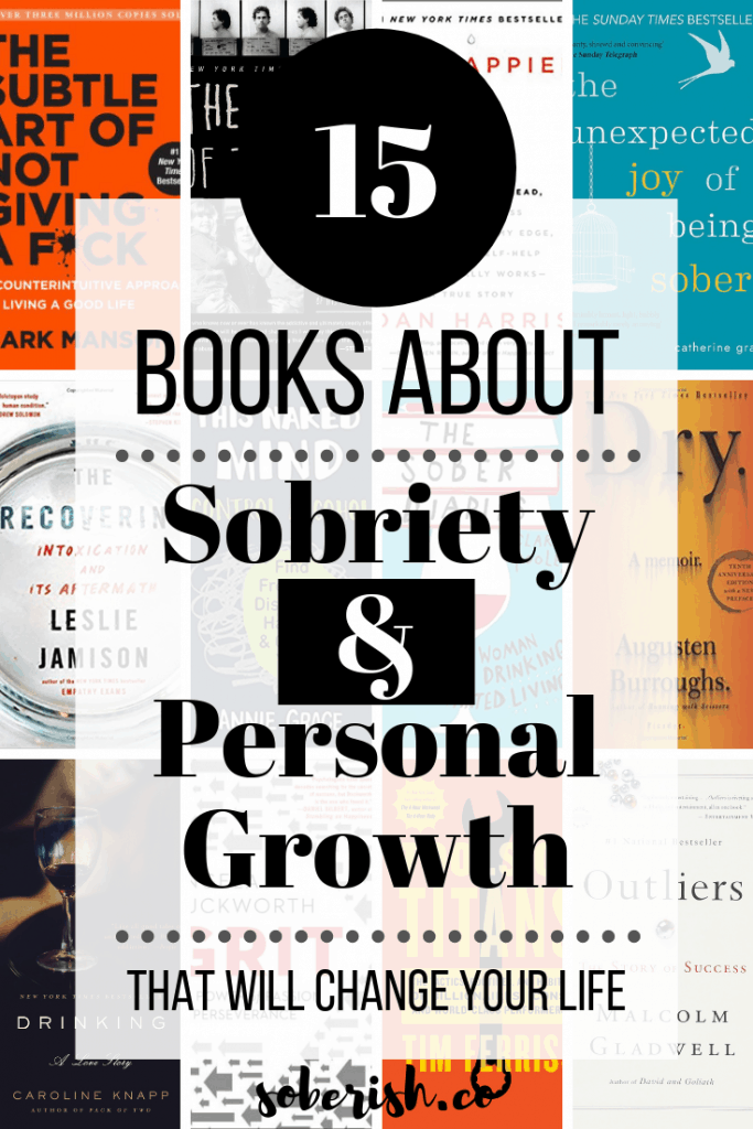 images of books about addiction and recovery