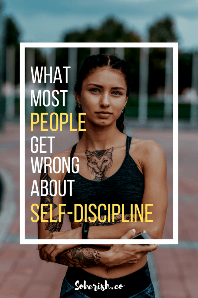 Image what most people get wrong about self-discipline