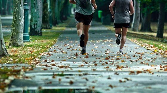 sober people running
