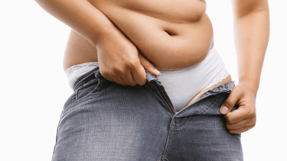 belly fat and weight gain from alcohol