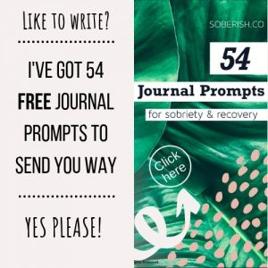 free sobriety journal prompts
