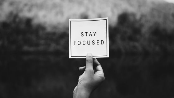 stay focused sign